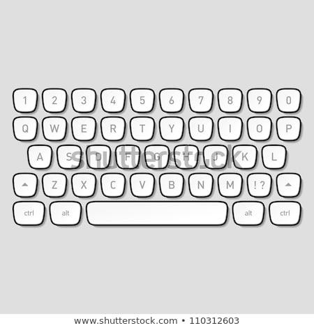 Push - Word on Old Typewriter's Keys. Stock photo © tashatuvango