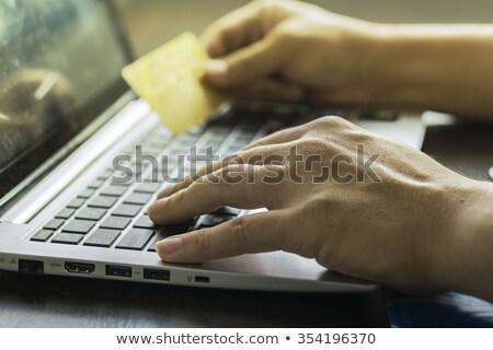 homme · clavier · souris · bureau · travaux - photo stock © monkey_business