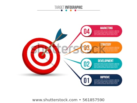 usado · dardo · alvo · imagem · clássico - foto stock © tiero
