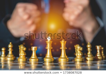 businessman having combined hands Stock photo © goryhater