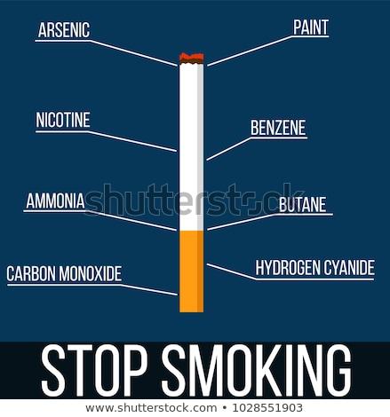 Dohányzás veszély személy veszélyes utazás óceán Stock fotó © Lightsource