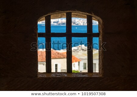 Prison Window View Stock photo © searagen
