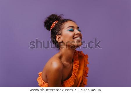 güzel · romantik · kadın · portre - stok fotoğraf © Anna_Om