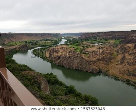 Panorama Snake River Canyon Near Twin Falls, Idaho Stock photo © ozgur