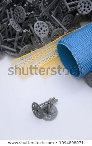 dowel fixed styrofoam insulation Stock photo © milsiart