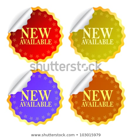 try now blue sticky notes vector icon design stock photo © rizwanali3d