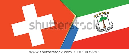 Switzerland and Equatorial Guinea Flags  Stock photo © Istanbul2009