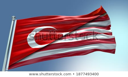 Turkey and Liberia Flags Stock photo © Istanbul2009