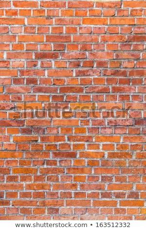 Velho histórico parede de tijolos harmônico estrutura padrão Foto stock © meinzahn