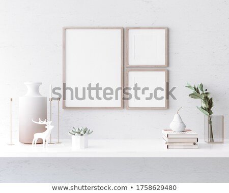 three posters template mockup stock photo © anna_leni