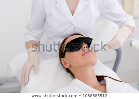 laser hair removal in the beauty salon stock photo © andreypopov