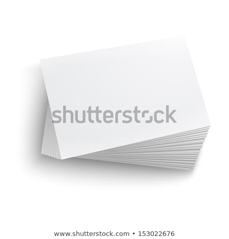 a batch of business cards Stock photo © magann
