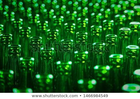 зеленый · пива · пена · фон · Бар · пить - Сток-фото © orensila