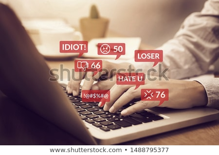 Hate Speech Stock photo © Lightsource