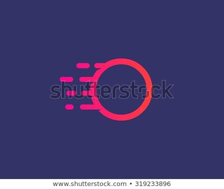 Fogo aplicativo ícone modelo móvel aplicação Foto stock © Said