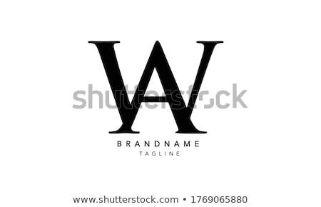 дизайн логотипа 10 дизайна фон письме Финансы Сток-фото © sdCrea