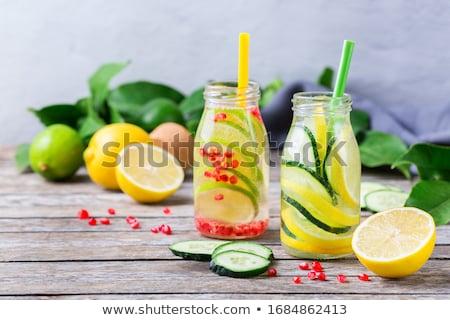 estate · bere · fatto · in · casa · limonata - foto d'archivio © yelenayemchuk