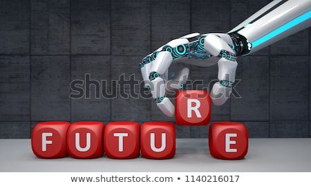 Robô medo robótico tecnologia trabalho perda Foto stock © Lightsource