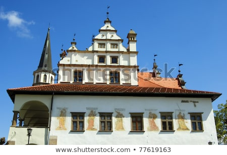former town hall, Square of Master Paul, Levoca, Slovakia Stock photo © phbcz