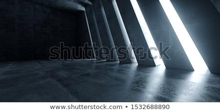 Alto túnel 3D imagen construcción Foto stock © ixstudio