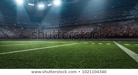 Digitalmente generado imagen iluminado estadio humo Foto stock © wavebreak_media