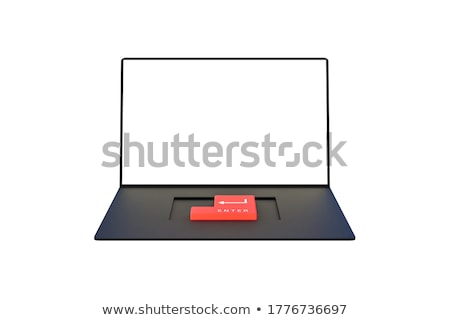 Keyboard with Red Button - Approved. 3D. Stock photo © tashatuvango