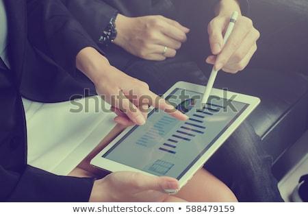strategic growth key stock photo © tashatuvango