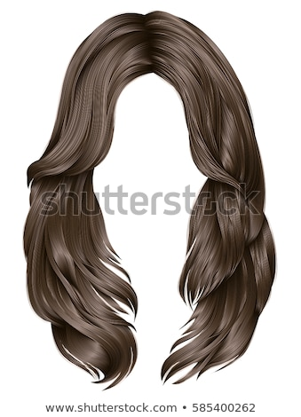female with hair cascading Stock photo © IS2
