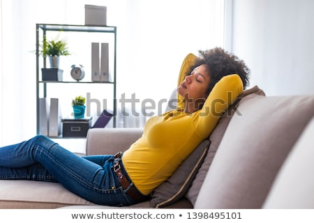 Woman reclining Stock photo © IS2