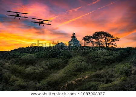point loma lighthouse stock photo © backyardproductions