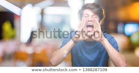 Photo stock: Enfants · Teen · studio · colère