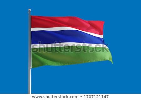 Gambia waving flag Stock photo © Amplion