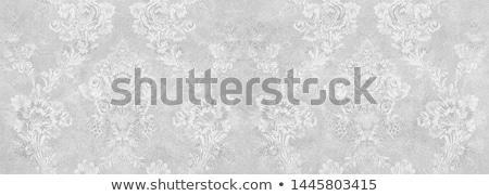 vektor · dizájn · elem · szövet · fekete · ázsiai · klasszikus - stock fotó © lissantee