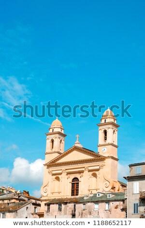 Saint-Jean-Baptiste Church in Bastia, France Stock photo © nito