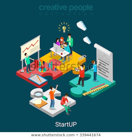 idea and start up collection vector illustration stock photo © robuart