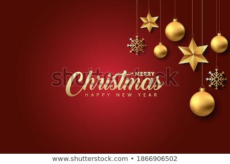Navidad · guirnalda · establecer · transparente · gradiente - foto stock © romvo