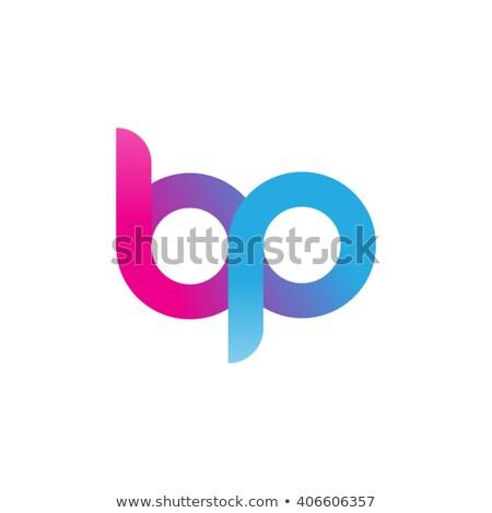 アイコン 手紙 ベクトル 青 紫色 ロゴ ストックフォト © blaskorizov