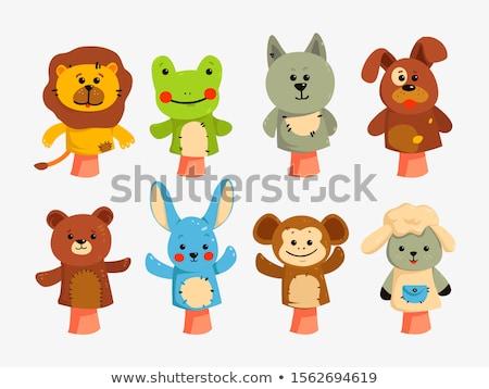 Fantoche boneca ícone cor projeto Foto stock © angelp