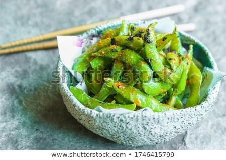 sojasaus · bonen · kommen · voedsel · groenten · eten - stockfoto © barbaraneveu