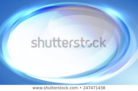 luz · azul · borrão · estilo - foto stock © studiostoks