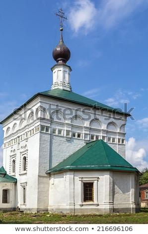 Kilise İsa geç 17 seyahat mimari Stok fotoğraf © borisb17