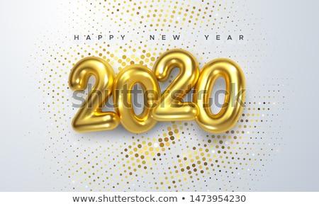 glückliches · neues · Jahr · Feier · glücklich · neue · Licht · Wirkung - stock foto © m_pavlov