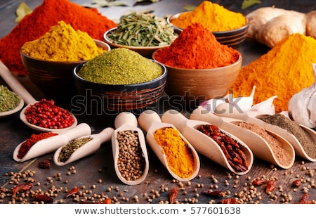 Variety of spices and herbs Stock photo © grafvision