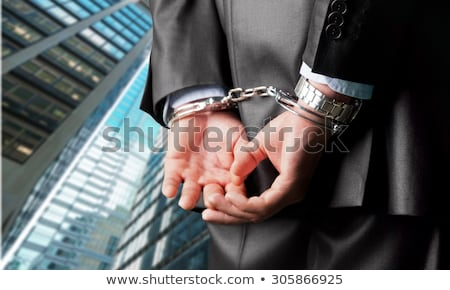 Business man arrested for bribe Stock photo © nomadsoul1