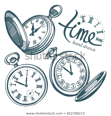 Vintage klok sepia achtergrond tijd retro Stockfoto © nomadsoul1