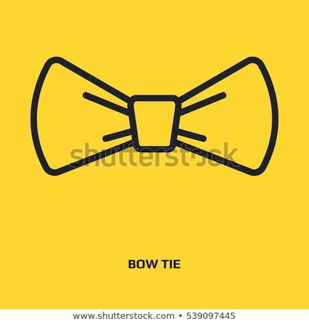 Ruban arc noeud utilisé cadeaux Photo stock © robuart