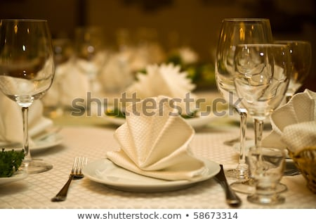 Romantic diner set Stock photo © elly_l