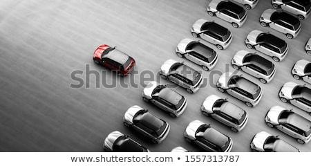 Fahrzeug Leasing Auto Licht Bank Klasse Stock foto © pterwort