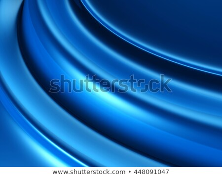 Zdjęcia stock: Dark Blue Glossy Silky Drapery