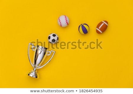 Brinquedo futebol bola primeiro plano Foto stock © luiscar